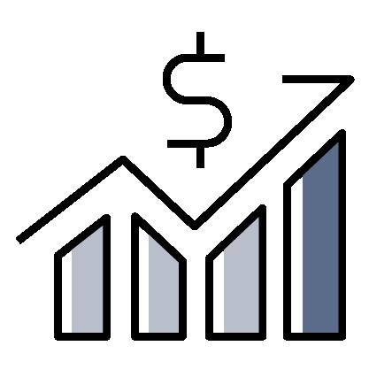 Financial Graph icon